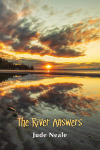 The cover shows a bright sunset over a lake.